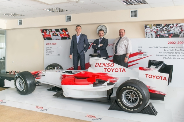 Легендарная автомобильная компания «Тойота-Украина» развивает бизнес в Украине с помощью ERP-системы Microsoft Dynamics AX